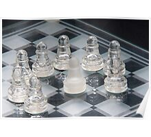 Chess Surrounded Poster