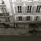 Parisian street by stelhope