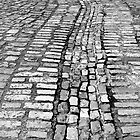 Cobblestone lines by Esther  Moliné