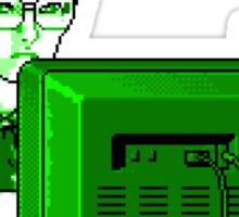 Research (Green) Sticker