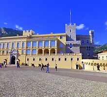 The Prince's Palace Of Monaco by Fara