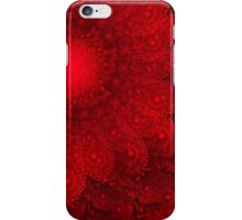 Nothing But Red Floral iPhone Case/Skin
