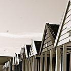 beach huts by stelhope