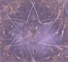 Delicate Pink Star by pjwuebker