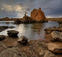 Following Rocks by Bob Larson