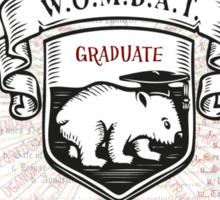Wombat - Harry Potter Exams Sticker