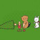 Beavers ruin christmas by Randyotter