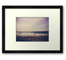 I Want to Swim in the Ocean with You Framed Print