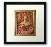 The Bouquet  Framed Print
