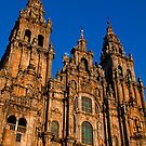 Spain. Santiago de Compostela. Cathedral. Facade. by vadim19