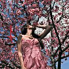 &quot;the cherry blossom girl&quot; - iphone 4 &amp; iphone 4s &amp; iphone 5 case by harun mehmedinovic
