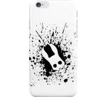 Splicer Mask (Bioshock Splatter Series) iPhone Case/Skin