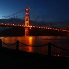 The Golden Gate Bridge by fototaker