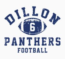 Dillon Panthers Football - 6 Gray Kids Clothes