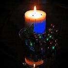 Christmas Candle by Dlouise