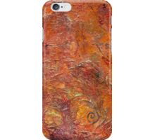 Gilded Orange iPhone Case/Skin
