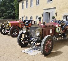 Locomobile M48 Speed Car (1916) & De Dion Bouton (1908)  by Frits Klijn (klijnfoto.nl)