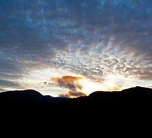 Langdale sunset by Rebecca Mason