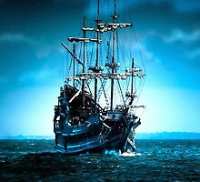 Sails in Blue by markmonty