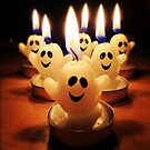 Ghost candles by Roxy J
