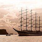 """Royal Clipper"" by globeboater"