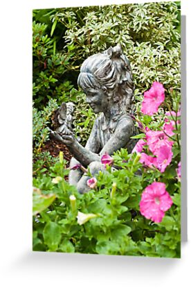 Garden Fairies by Tracy Riddell