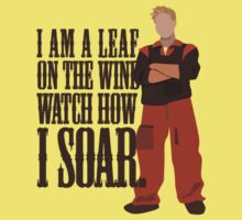 I'm Leaf On the Wind  Kids Clothes