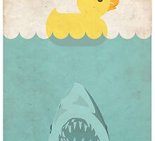 Jaws Rubber Duck by Creative Spectator