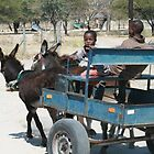 Street photo - Botswana - 1  by Jenny  Riley