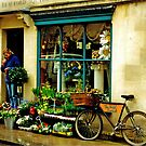Flower shop, Bath, UK by Margaret  Hyde