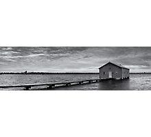 Crawley Edge Boatshed - Perth WA  Photographic Print