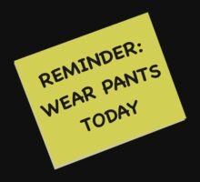 Wear Pants by TWCreation