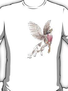 Sketch -- Mythological House Griffin: Robin Variety T-Shirt