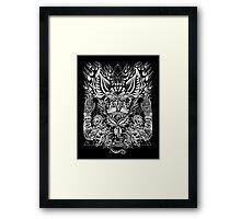 Haunter of the Dark Framed Print