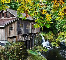 Cedar Creek Grist Mill by Rob Atkinson