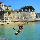 Beating the summer heat in Siracusa,Sicily by Millie Brown