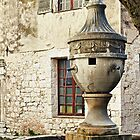 Village fountain of St Paul de Vence, France by Millie Brown