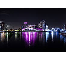 Media City Manchester And Lowrie Centre Photographic Print