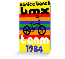 Venice Beach BMX Team Greeting Card