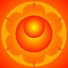 Mandala  Brahma  Second Chakra by shoffman