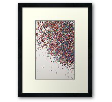Fun II (NOT REAL GLITTER - photo) Framed Print