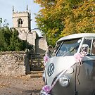 Wedding Camper Van - Portrait by Phil Parkin