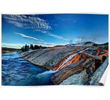 Into the Firehole River Poster