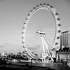 London Eye by Kelly Worsnop Design