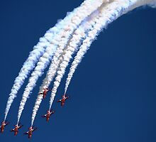 Red Arrows by Daniel Loxley Warwood