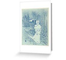 La Chatelaine (Le Tocsin) Greeting Card