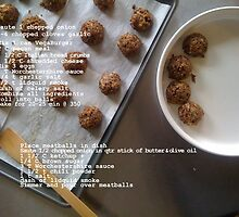 Vegetarian Meatballs by jegustavsen