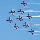 Red Arrow streak by jabisfab