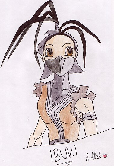 Fan drawing of Ibuki  by Seira-Roido