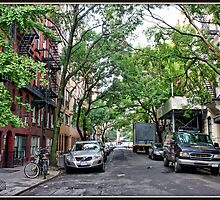 Jones Street, Greenwich Village by Mikell Herrick